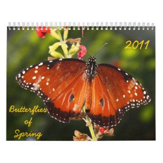 2011 Butterflies Calendar