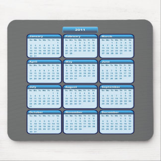 2011 Calendar Mousepad