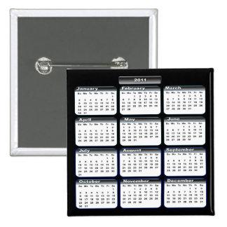 2011 Calendar Pin