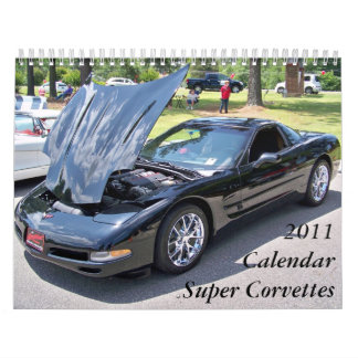 2011 Calendar Super Corvettes
