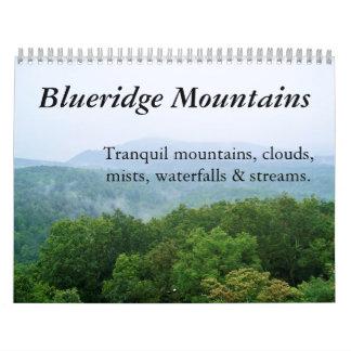 2011 Calendar: Tranquil Blue Ridge Mountains Wall Calendar
