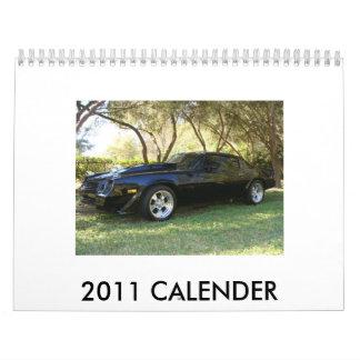 2011 CALENDER WALL CALENDAR