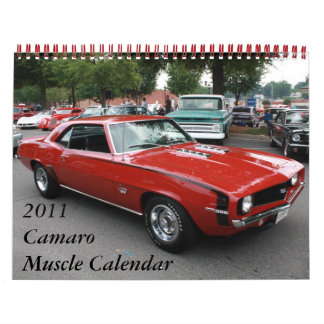 2011 Camaro Muscle Calendar