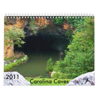 2011 Carolina Caves Calendar