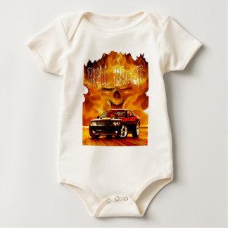 2011 Challenger Hell Racer Baby Bodysuit