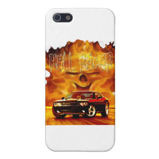 2011 Challenger Hell Racer Case For iPhone 5/5S