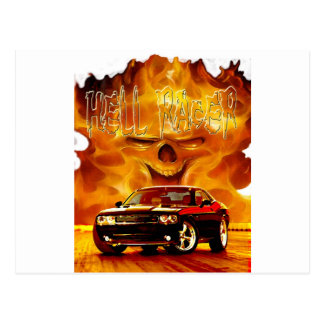 2011 Challenger Hell Racer Postcard