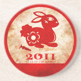 2011 Chinese New Year of the Rabbit Coasters