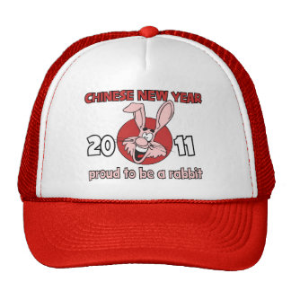 2011 Chinese New Year of The Rabbit Mesh Hat