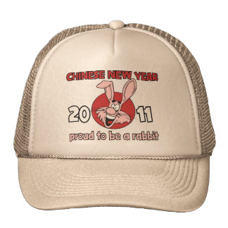 2011 Chinese New Year of The Rabbit Mesh Hat
