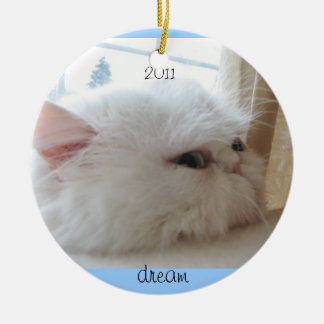 2011 Christmas Kitty Dream Christmas Ornament