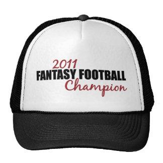 2011 Fantasy Football Champion Trucker Hat