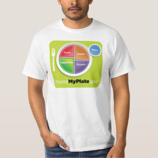 2011 Food Pyramid Choose My Plate shirt