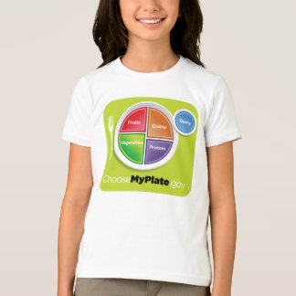 2011 Food Pyramid Choose My Plate shirt