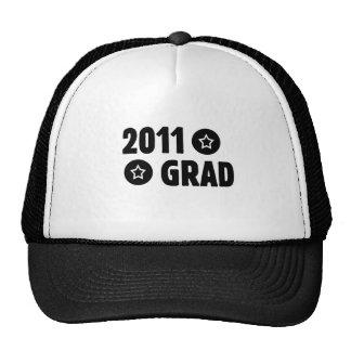 2011 Grad Mesh Hats