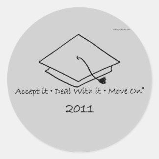 2011 graduate sticker