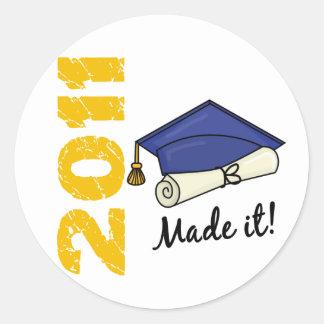 2011 Graduation Cap Sticker