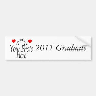 2011 Graduation Gifts Car Bumper Sticker