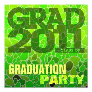 2011 Graduation Party Invitation Go Green