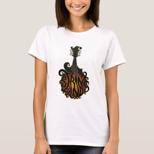 2011 Groovy Ladies String Band T T-Shirt