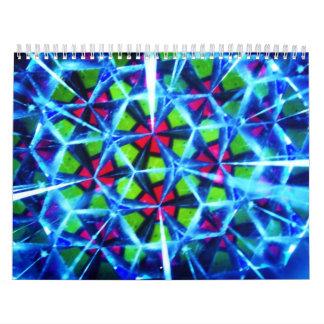 2011 kaleidoscope calender calendar