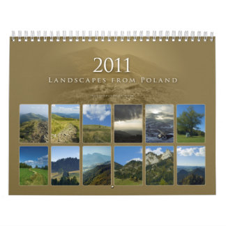 2011 Landscapes from Poland - Calendar