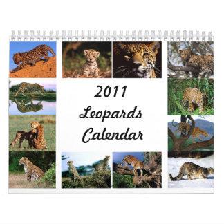 2011 Leopards Calendar