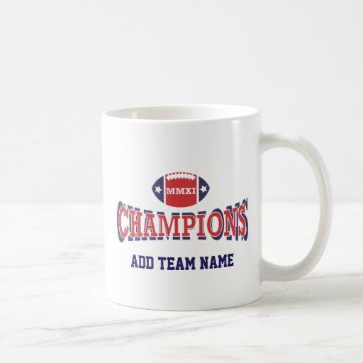 2011 MMXI Football Champions Coffee Mugs