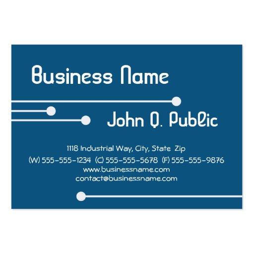2011 Modern Lines Calendar Business Cards