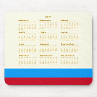 2011 Mouse Pad Calendar