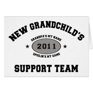 2011 New Grandchild Cards