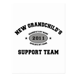 2011 New Grandchild Postcard