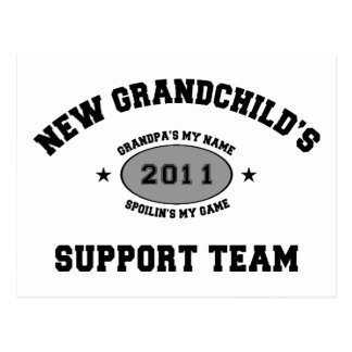 2011 New Grandchild Postcard