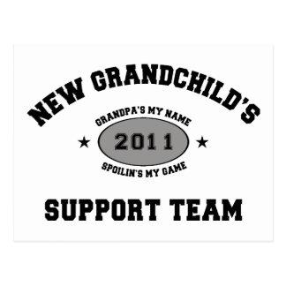 2011 New Grandchild Post Cards