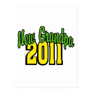 2011 New Grandpa Postcard