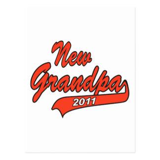 2011 New Grandpa Postcard