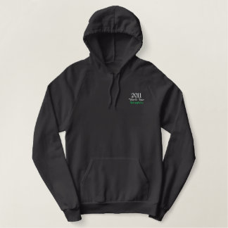 2011 New Zealand South African fans & supporters Embroidered Hooded Sweatshirts