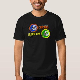 2011 NFC Champs Green Bay VS Chicago T-Shirt