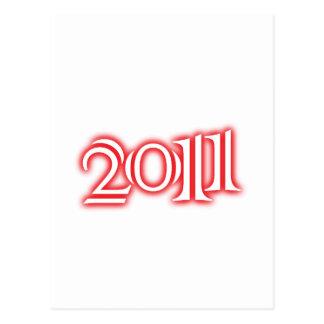 2011 POSTCARD