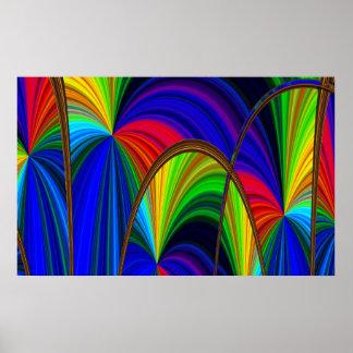 2011 Rainbow Sparkles Posters