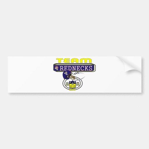 2011 Rednecks SIDELINE Bumper Sticker