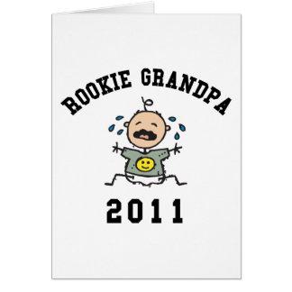 2011 Rookie Grandpa Cards