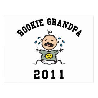 2011 Rookie Grandpa Postcard
