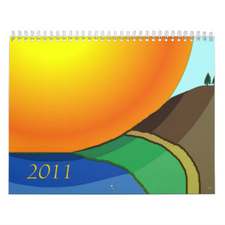 2011 Special Edition Cool Landscapes Calendar