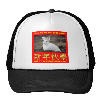 2011 Year Of The Hare Happy Chinese New Year Hats