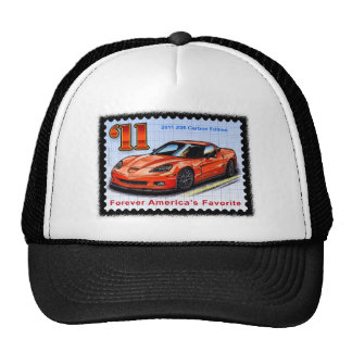 2011 Z06 Carbon Edition Corvette Cap
