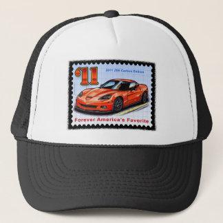 2011 Z06 Carbon Edition Corvette Trucker Hat