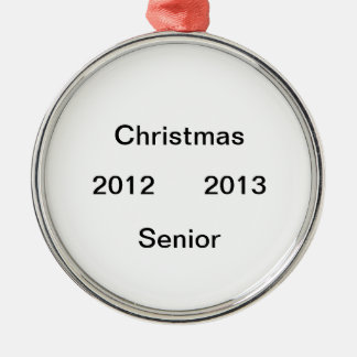2012 2013  senior year ornament