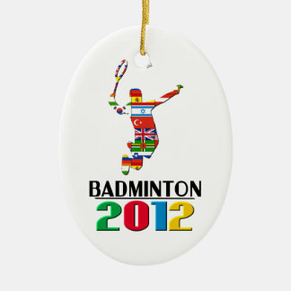 2012: Badminton Ornament