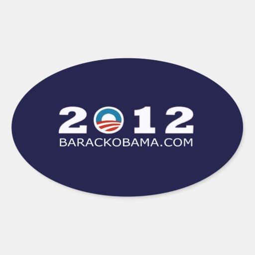 2012 Barack Obama Re-election Design Sticker